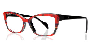 Royal Stewart by Face a Face is inspired by Scottish tartans- available at Montgomery Vision Care, Cincinnati, OH